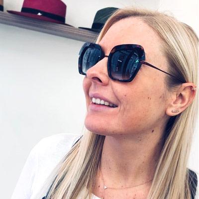 Aurelie Namur lunettes Dieu Opticien