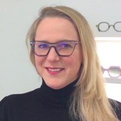 Elodie mondonville lunettes opticien brissaud