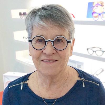 Jacqueline Mondonville Lunettes Brissaud Opticiens