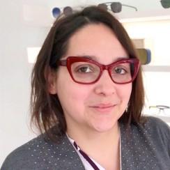 Maud Mondonville lunettes Brissaud Opticien