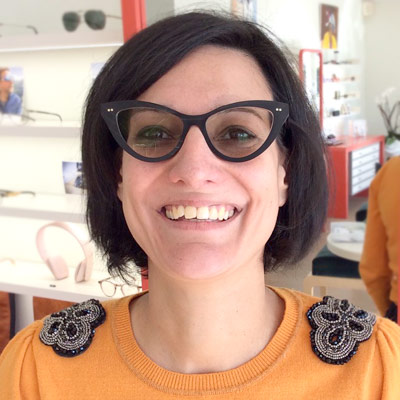 Audrey Mondonville lunettes Brissaud Opticiens