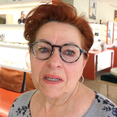 Josiane Mondonville Lunettes Brissaud Opticiens