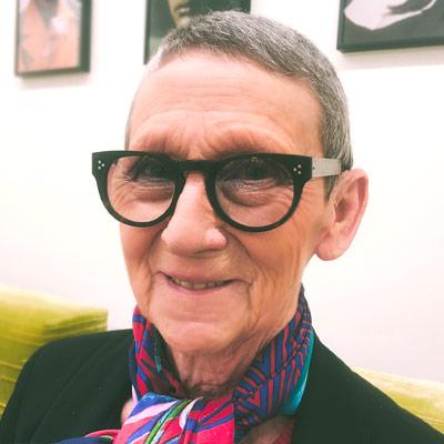 Annie Namur lunettes Dieu Opticien
