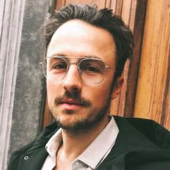 Julien Namur lunettes Dieu Opticien
