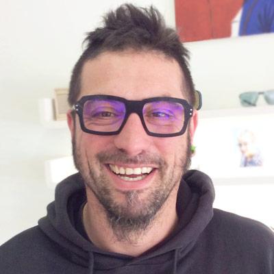 Christophe Mondonville lunettes Brissaud Opticien