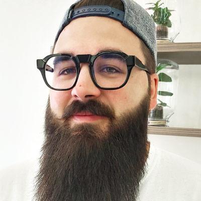Sylvain Namur lunettes Dieu Opticien
